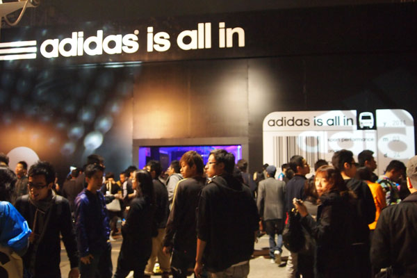 adidas is all in! Event in Hong Kong – mummy why ac3b13623