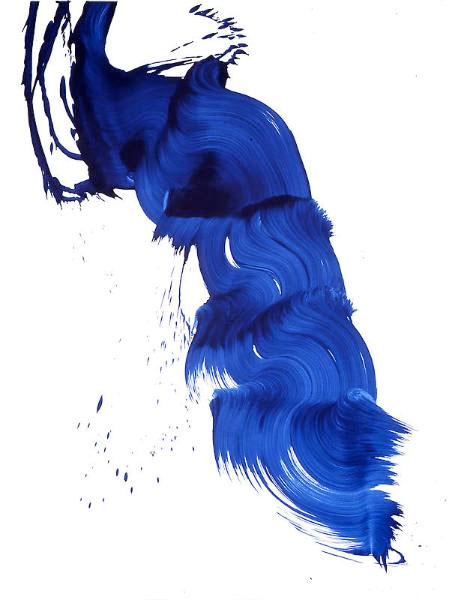 Darkbluepaintbrush: Coach X James Nares: Art On Your Tote