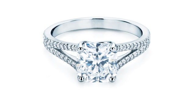 What Tiffanys Patented Mixed Cut Diamond With Wide Corners In A