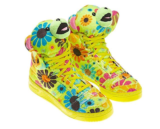 Jeremy Scott Fall 2012 Adidas Originals Teddy Bear Shoes