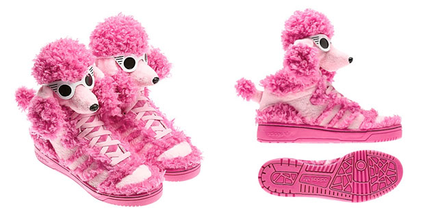 a9692b3d0a56 Fash-Obsession  adidas Originals Poodle shoes by Jeremy Scott – mummy why