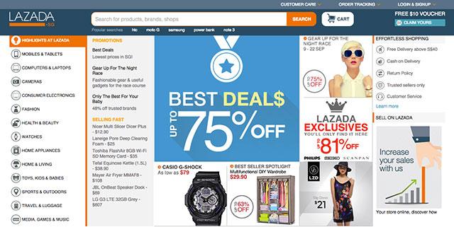 Online Shopping - Lazada Singapore