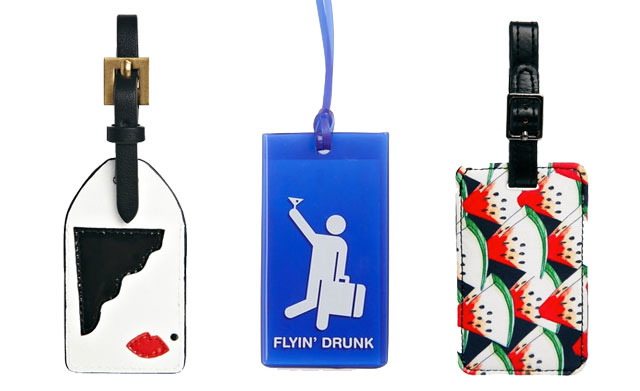Lulu Guinness Luggage Tags