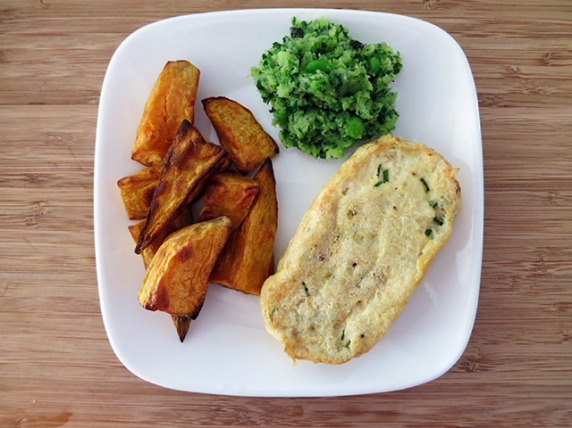 Sustainable fish & chips by Sarah Wilson.